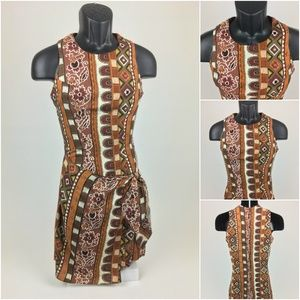Alyn Paige Womens Dress - Aztec Design